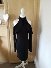 Misguided ladies black dress size 6