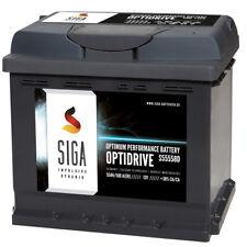 SIGA Autobatterie Batterie 55AH 12V 580A/EN statt 44Ah 45Ah 50Ah 51Ah 52Ah 54Ah