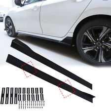 Side Skirts Seitenschweller Erweiterung für Universal VW Benz Honda Opel Audi