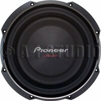 """Pioneer Ts-sw3002s4 12"""" 1500-watt Shallow Subwoofer With Single 4ohm Voice Coil"""