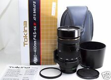 *EXC+* Tokina AT-X 840 80-400mm f/4.5-5.6 AF II SD Lens for NIKON w/ BOX etc