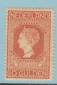 NETHERLANDS 101 VERY LIGHTLY HINGED OG * NO FAULTS EXTRA FINE !