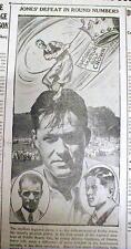 1929 newspaper w photo BOBBY JONES loses US AMATEUR GOLF TOURNAMENT