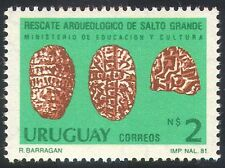 Uruguay 1981 Stone Tablets/Carving/Archaeology/History/Heritage 1v (n40368)