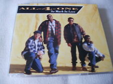 ALL-4-ONE - SO MUCH IN LOVE - UK CD SINGLE