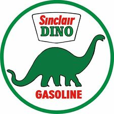 Vintage Sinclair Dino H C Gas Station Decal - The Best