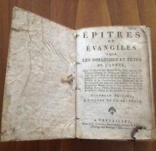 Epitres et Evangiles.: Pour tous les dimanches et fêtes de l'année-French 1812