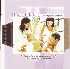 THE CORRS - Would You Be Happier? (UK Ltd Ed 4 Tk Enh CD Single Pt 2/Postcards)