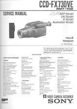 Sony  Original Service Manual für CCD-FX 730VE
