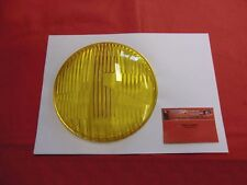 VW Karmann Ghia Typ 14 NOS HELLA Glas für Hauptscheinwerfer gelb (-037)