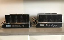 Match Pair McIntosh MC275-II Gordon Gow Commemorative Edition  Stereo Tube Amp