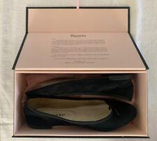 Repetto Ballet Flats Black Suede 38 US 7.5 In Original Box