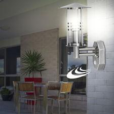 LED Lampe Extérieure Détecteur de mouvements mur LANTERNE ACIER INOX façades