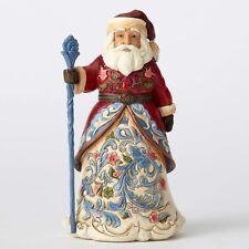 Jim Shore Heartwood Creek 'Jolly Julenissen' Norwegian Santa 4053705