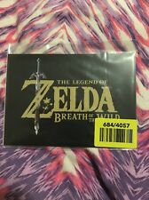 LEGEND OF ZELDA BREATH OF THE WILD- TWO DOUBLE SIDED ART CARDS- NO GAME- New
