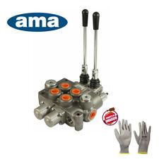 AMA Basic Distributore a 2 Leve 40L - Grigio (58271)