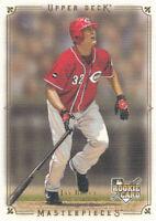 Jay Bruce 2008 Upper Deck Masterpieces #59 Cincinnati Reds RC Rookie Card