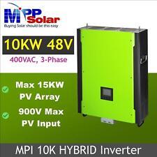 Hybrid Solar inverter 10kw 3 phase , max PV input 900vdc , max solar 14.5kw