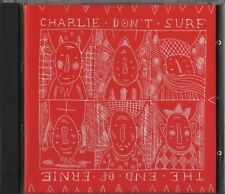 Charlie Don't Surf /The End Of Ernie ‎– Split (CD 1999) Belgium Hardcore Punk