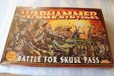 Juegos taller Warhammer Battle for skull pass en Caja Juego Goblins enano Fantasía