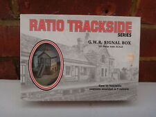 RATIO GWR SIGNAL BOX KIT MODEL RAILWAY SCENERY BUILDING OO GAUGE