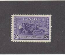 CANADA (MK900) # 261  VF-MLH  50cts MUNITIONS FACTORY /VIO/1942 CAT VALUE $50