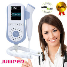 Jumper 2.5MHz Probe Baby Heartbeat Fetal Doppler LCD Screen Pregnant Monitor FDA