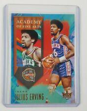 2019-20 Panini NBA Court Kings Julius Erving Academy Of Fine Arts Insert Card