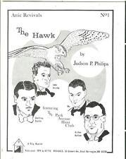 """ATTIC REVIVALS #!, 1979, slim pulp magazine, Philips' """"The Hawk"""""""