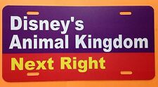 Walt Disney World Road Sign Inspired License Plate Disney's Animal Kingdom