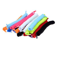 Elastic No Tie Curly Shoe Laces Coiler Elastic Twisty Fits Kid And Adult HO