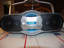 Sony CFD-F10 Boom Box/CD/Radio/Cassette/Recorder w/Bass Expansion & Mega Bass