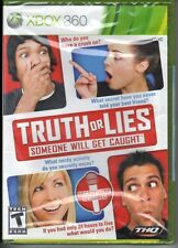 Truth or Lies Someone Will Get Caught Game Only Requires Microphone Xbox 360