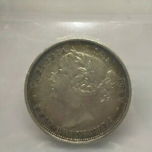 Canadian 1864 New Brunswick 20¢ Graded by ICCS and Graded VF-30