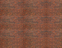 HO Scale Brick Model Train Scenery Sheets –5 Seamless 8.5x11 Coverstock Dk Calic