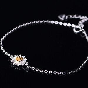 Woman Daisy Bracelet Anklet Alloy Jewellery Boho Ankle Flower Chain Girl Fashion
