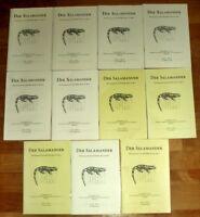 11x Der SALAMANDER Übersetzung Salamandra DGHT Herpetologie Terrarien Reptilien