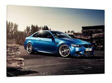 BMW E92 M3 30x20 pulgadas impresión enmarcado cuadro lienzo-Pared Arte Cartel