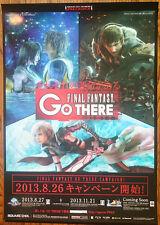 Final Fantasy Raro Xbox 360 PS3 PS Vita 51.5 cm X 73 Cm Cartel Promo Japonés