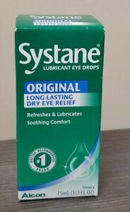 Systane Original Lubricant Eye Drops, 30 mL (1 Fl Oz) Choose Date