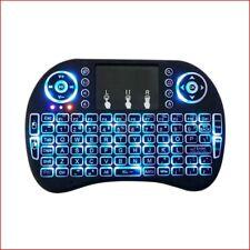 Berryku Mini Rechargeable Wireless Keyboard w/ Backlit - PC MAC XBOX PS IPTV RPi