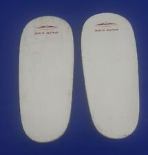 "RARE Pair of Vintage 20"" Sea King Mini Wood Water Ski's 1960's Advertisement"