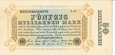 BANCONOTA GERMANIA 20 P119b 1923 aUNC