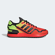 adidas Originals Mens ZX 750 HD Trainers red/yellow