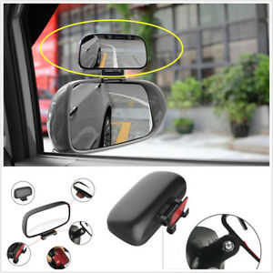 1 x Rear view mirror Adjustable Wide Angle Side Rear Mirrors Blind Spot Snap