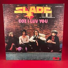 SLADE Coz I Luv You 1972 Australian issue VINYL LP EXCELLENT CONDITION