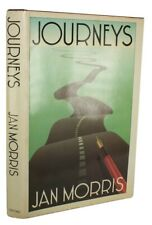 1984 JAN MORRIS Travel JOURNEYS Europe AMERICA Dustwrapper  SIGNED 1ST EDITION