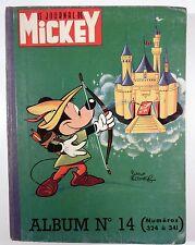 Mickey Le journal Reliure éditeur 14  - BE
