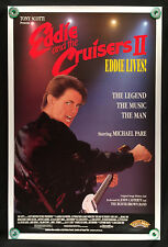 "EDDIE AND THE CRUISERS II (1989) ORIGINAL ROLLED MOVIE POSTER 1-SIDED 27"" X 41"""