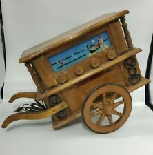 GUILD HURDY GURDY AM-FM RADIO FROM 1960S- RAREST GUILD SET - UNTESTED